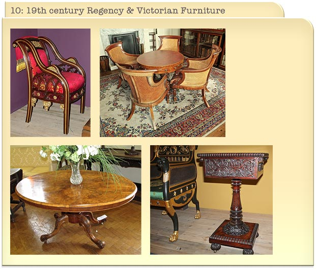 10: 19th century Regency & Victorian Furniture