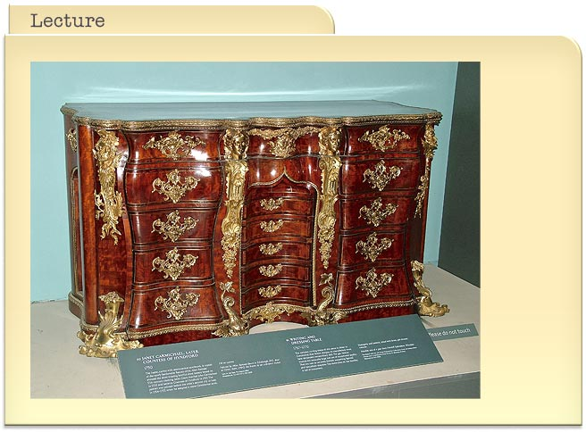 All That Glitters - Gilt furniture of the 18th century