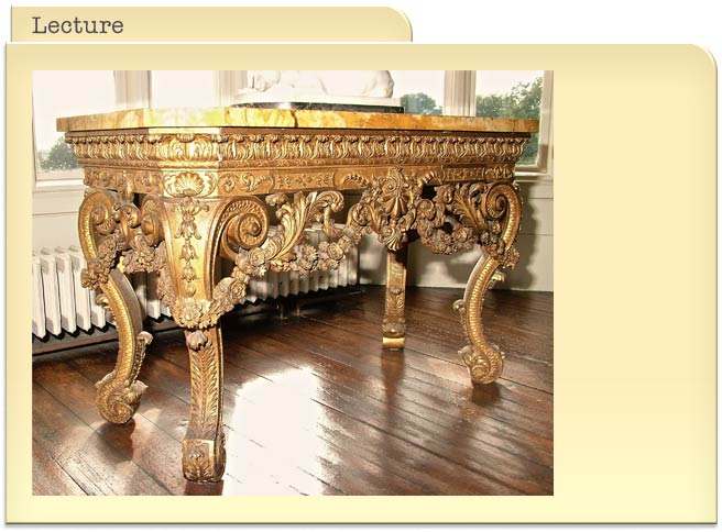 Baroque English Furniture