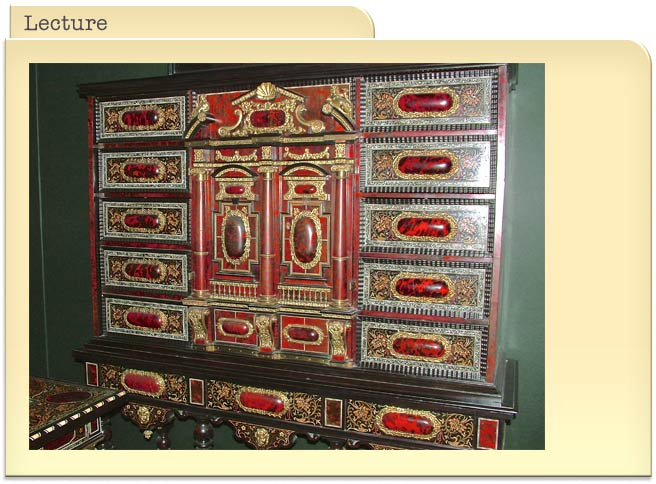 Splendiferous Furniture of the late 17th Century